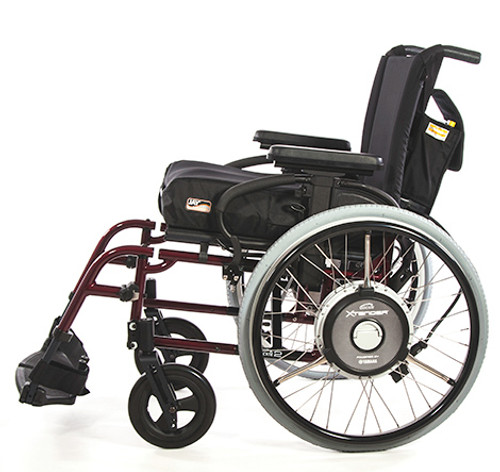 Quickie Xtender Manual Power-Assist Wheelchair by Sunrise