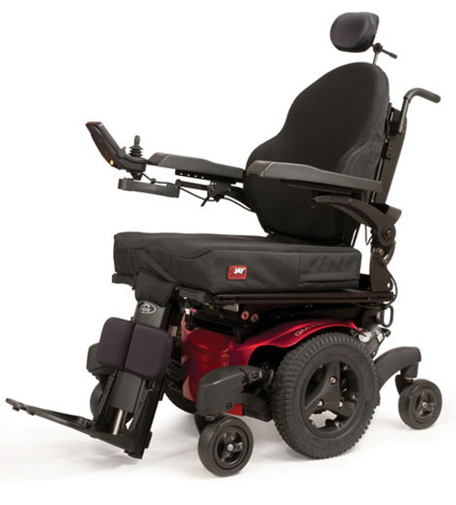 Quickie QM-7 Series Mid-Wheel Drive Power Wheelchair by Sunrise