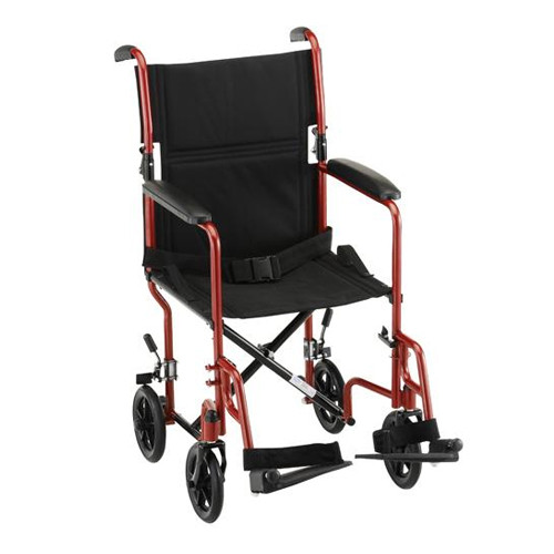 "Nova 319 Transport Chair 19"" Steel"