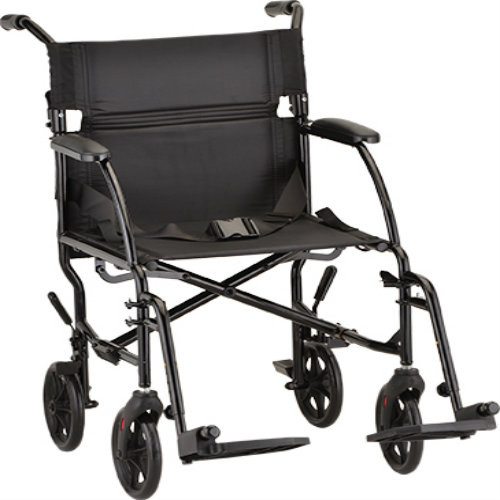 "Nova 379 Transport Chair 18"" Ultra Lightweight"
