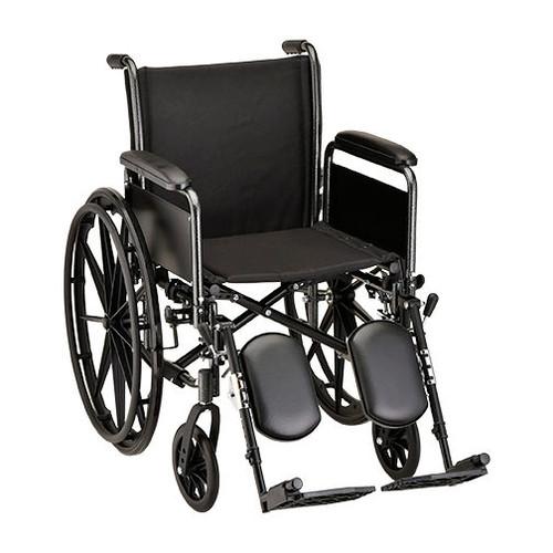 "Nova 5181 18"" Steel Wheelchair Detachable Full Arm"