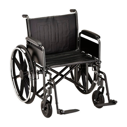 Nova 5241 24″ Steel Wheelchair Detachable Full Arm