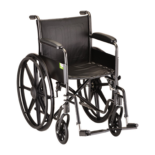 Nova 5060 16″ Steel Wheelchair Fixed Arms