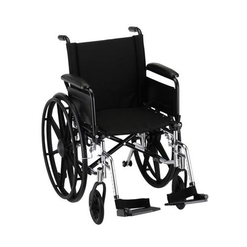 Nova 7181 18″ Lightweight Wheelchair Full Arms