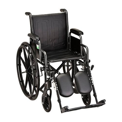Nova 5185 18″ Steel Wheelchair Detachable Arms