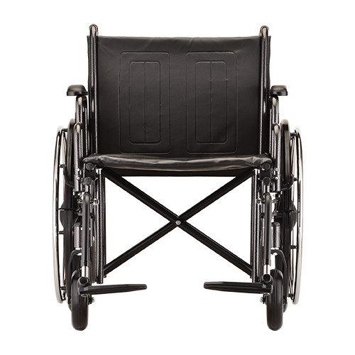 Nova 5240 24″ Steel Wheelchair Detachable Arms