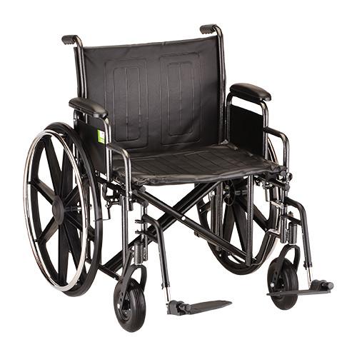Nova 5240 24″ Steel Wheelchair Detachable Arms