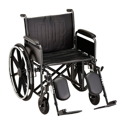 Nova 5221 22″ Steel Wheelchair Detachable Full Arm