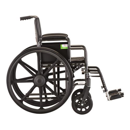 "Nova 5165 16"" Steel Wheelchair Detachable Arms"