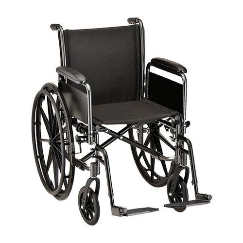 Nova 5186 18″ Steel Wheelchair Detachable Full Arm