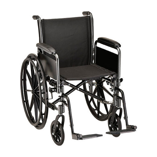 Nova 5186 18″ Steel Wheelchair Detachable Full Arm