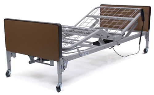 Patriot Semi-Electric Homecare Bed - Plastic Ends