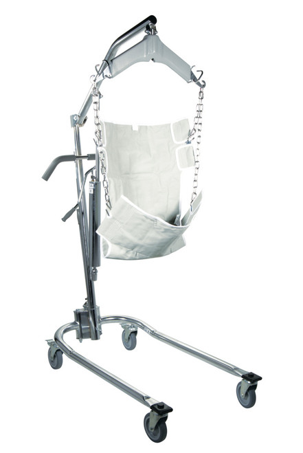 Drive 13023 Hydraulic Deluxe Chrome-Plated Patient Lift