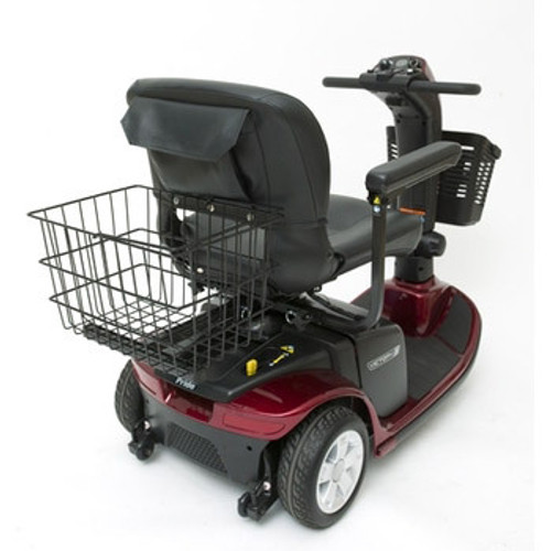 Pride Mobility rear basket for scooters