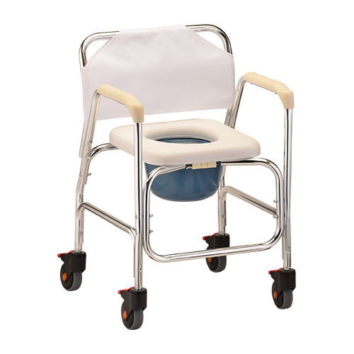 Nova Shower Commode Chair with Wheels 8800