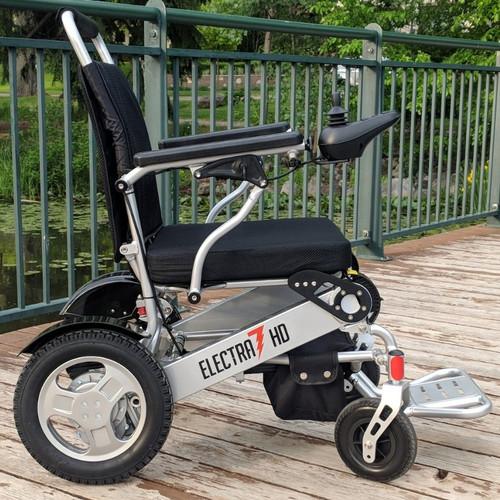 Electra 7 HD Wide Folding Power Wheelchair