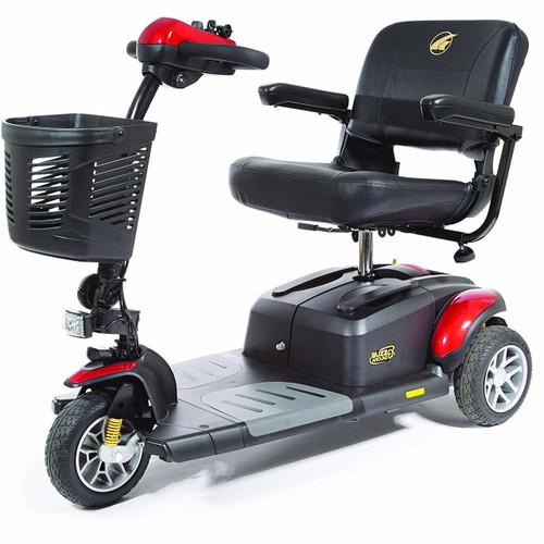 Buzzaround EX 3-Wheel Scooter in Red