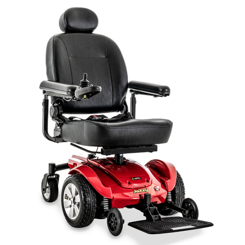 Jazzy Select Power Chair Red