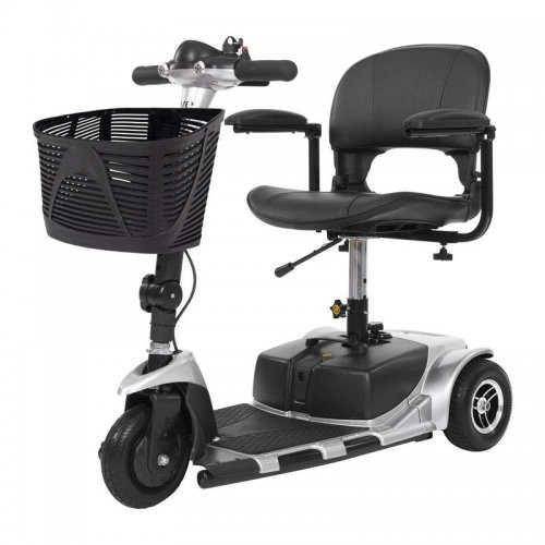 Vive Health 3-Wheel Mobility Scooter Silver
