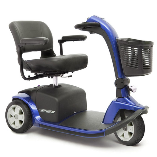 Victory 10 3-Wheel Scooter in Blue