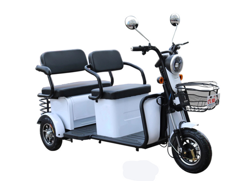 PPM4000 2-Person Electric Trike Recreational Scooter