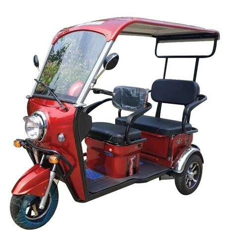 PPM5000S 2-Passenger Electric Trike with Hard Top