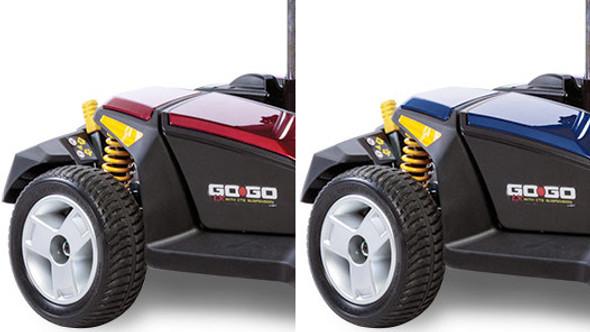 Go-Go LX 3-Wheel Scooter Rear Wheels