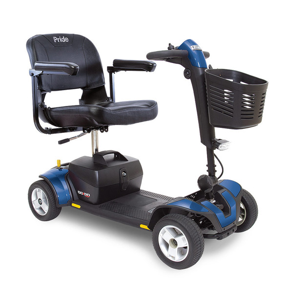 Go-Go Sport 4-Wheel Scooter in Blue