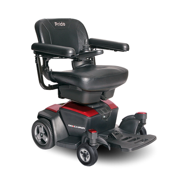 Go Chair Power Wheelchair in Red