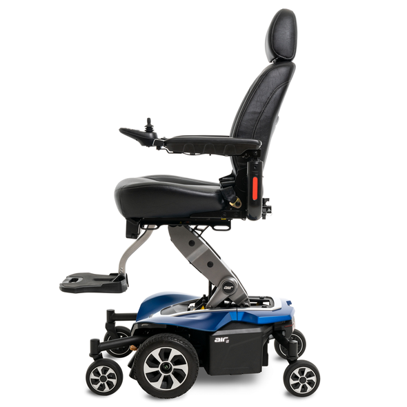 Jazzy Air 2 Power Wheelchair Side View