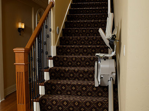 Elan Indoor Straight Rail Stair Lift by Bruno