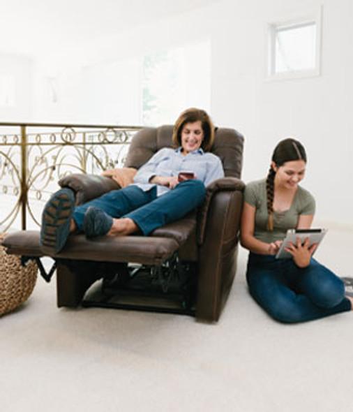VivaLift Elegance Lift Chair PLR975 in Use