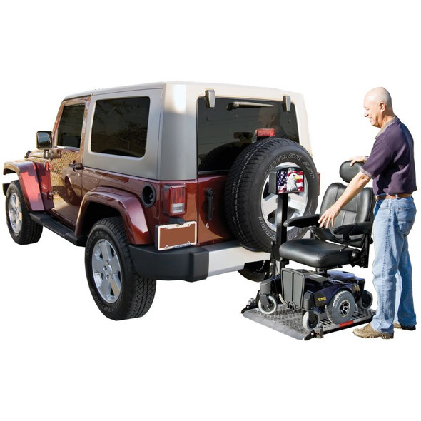 AL500 Platform Power Wheelchair Auto Lift by Harmar