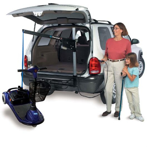 AL065 Inside/Outside Wheelchair and Scooter Auto Lift by Harmar