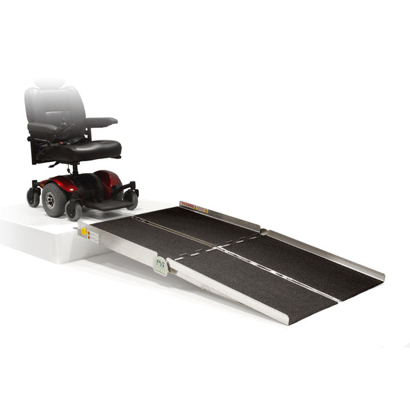 Prairie View Industries Bariatric Multifold Ramp