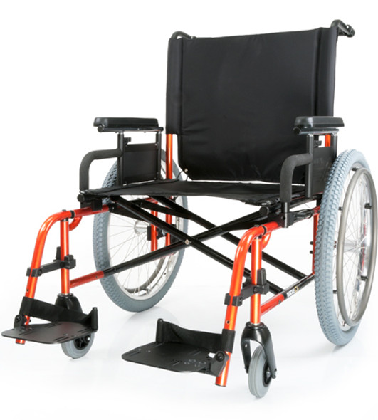 Quickie M6 Heavy Duty Manual Wheelchair by Sunrise