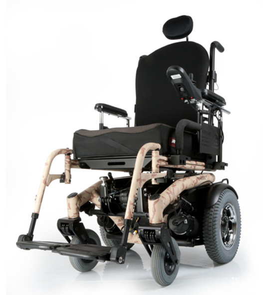 Quickie S-6 Electric Series Rear-Wheel Drive Power Wheelchair by Sunrise
