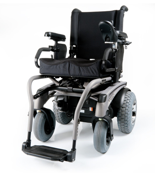 Quickie P-222 SE Rear-Wheel Drive Power Wheelchair by Sunrise