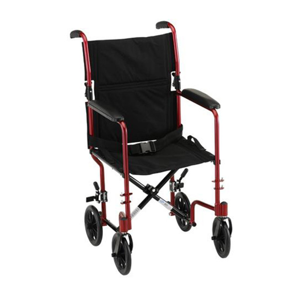 Nova 327 Transport Chair 17""
