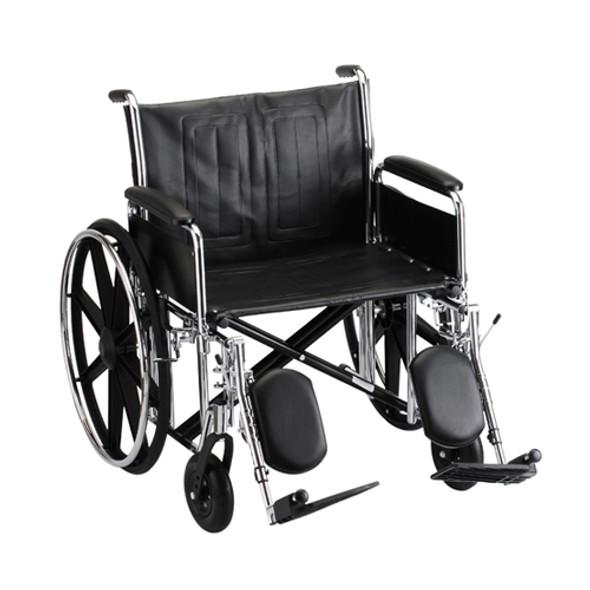 Nova 5241 24″ Steel Wheelchair Detachable Full Arm