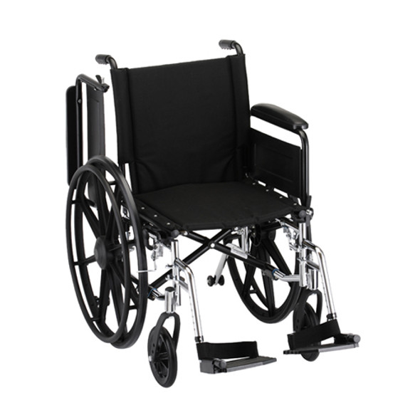 Nova 7181 18″ Lightweight Wheelchair Full Arms