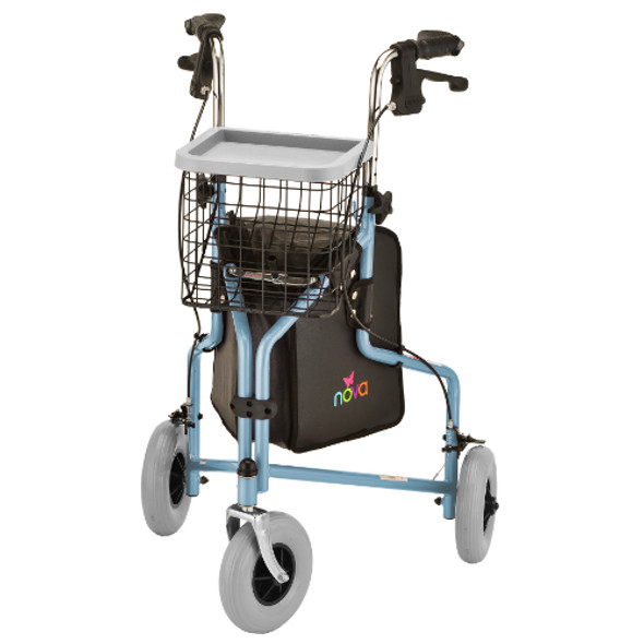 Nova Traveler 3-Wheel Rolling Walker 4900