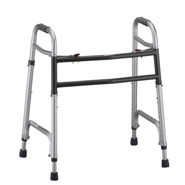 Nova Bariatric Folding 2-Button Walker 4095
