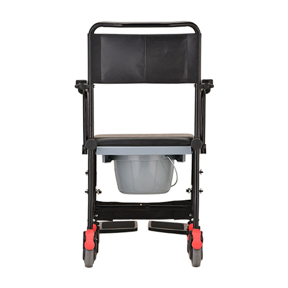 Nova Drop-Arm Commode Transport Chair 8805