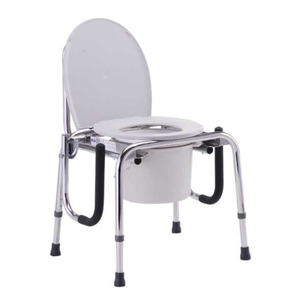Nova Drop-Arm Commode Gray 8900W