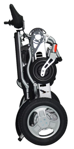 Eagle HD Folding Heavy-Duty Bariatric Power Wheelchair Folded