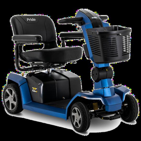 Pride ZT10 Zero Turn 4-Wheel Scooter in Blue