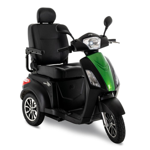 Raptor Scooter with green inserts