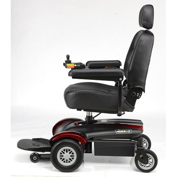Vision CF Power Chair P322A Side