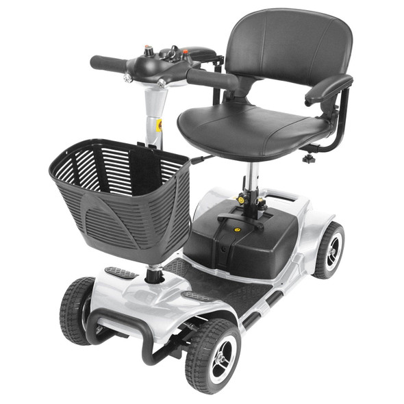 Vive Health 4-Wheel Mobility Scooter Silver